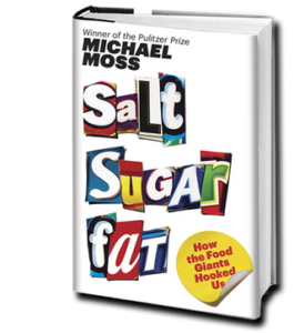 Cover of Salt Sugar Fat, a book by Michael Moss