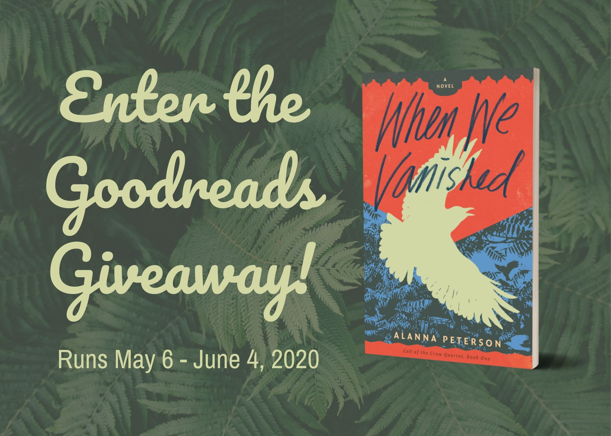 When We Vanished Goodreads Giveaway