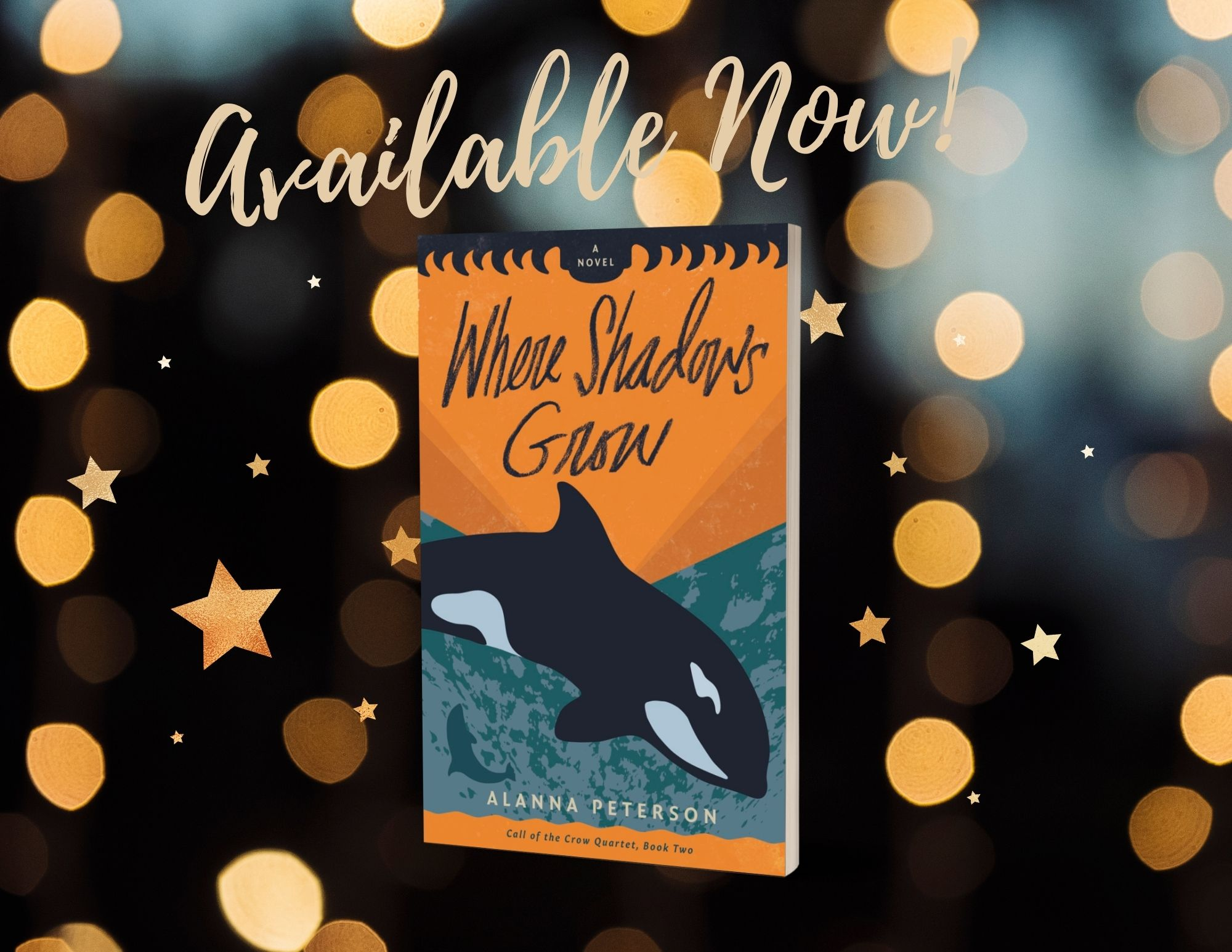 Virtual Launch of Where Shadows Grow!